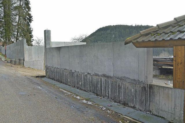 Die große Mauer darf stehen bleiben