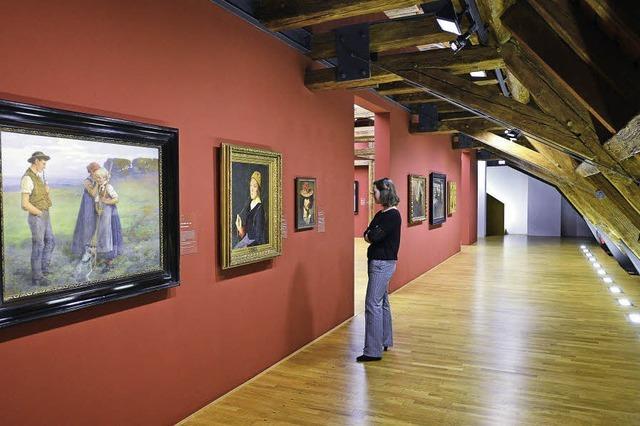 Werkschau badischer Künstler im Augustinermuseum in Freiburg