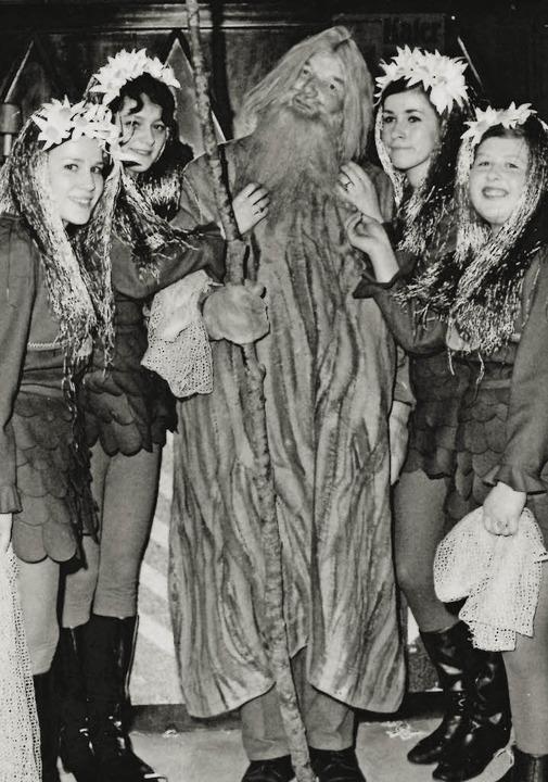 Der Seegeist im Wandel der Zeit: Hier ...nixen in den 1960er- Jahren<ppp></ppp>    Foto: Lucia Ketterer
