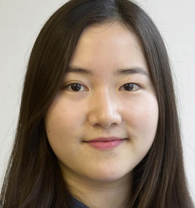 """Sang-ah Lee, 23: """"Das ist bereit...s ein bisschen kompliziert ist.""""    Foto: Ingo Schneider"""