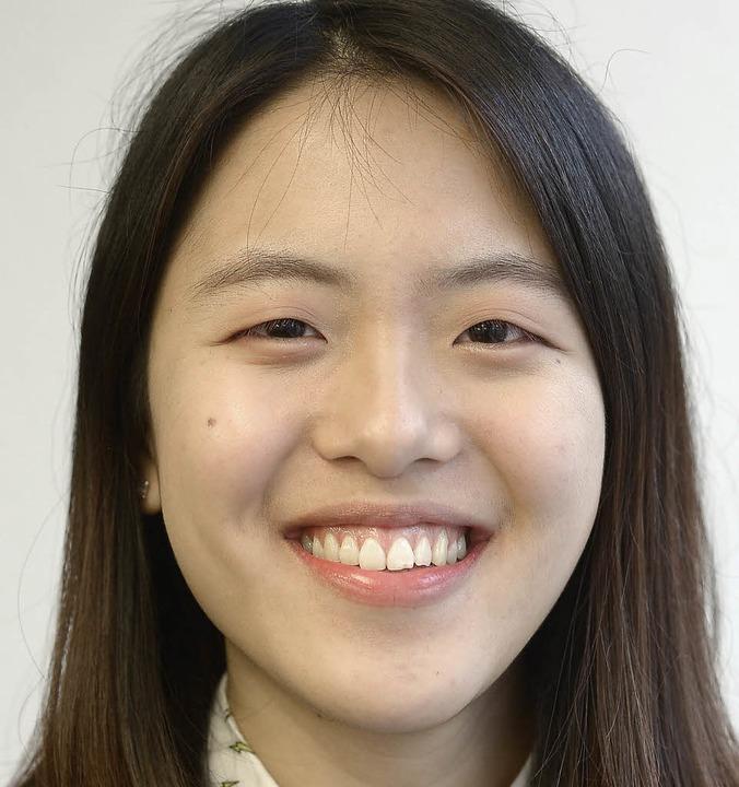 """Suwon Chung, 20: """"Deutsch hat mi...s hat  mir ganz gut geschmeckt.""""    Foto: Ingo Schneider"""