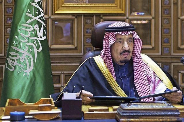 Salman regiert jetzt in Saudi-Arabien