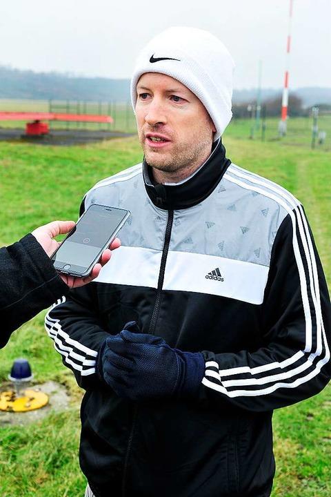 SC-Fan Henning Schmidtpott.  | Foto: Thomas Kunz