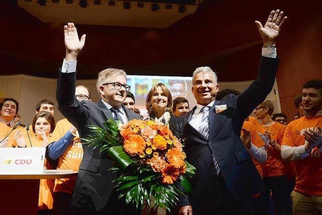 Südwest-CDU will mit Guido Wolf an der Spitze den Machtwechsel