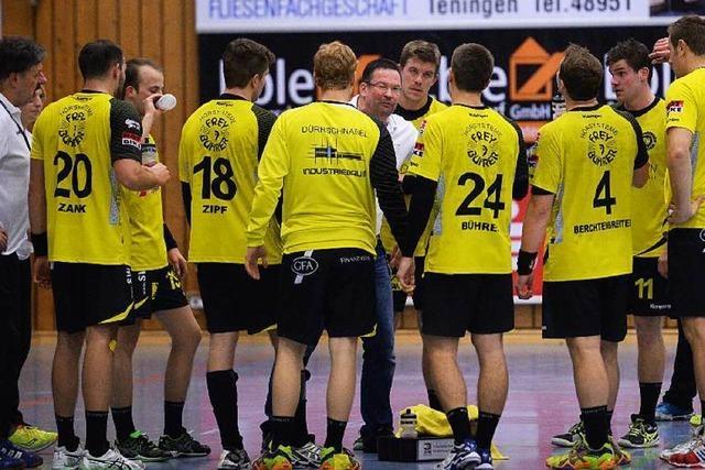 Erste Niederlage in der Rückrunde für Teninger Handballer