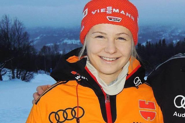 Annika Knoll startet bei Biathlon-Europameisterschaft