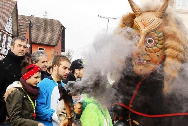 Fotos: Großer Narrenumzug in Sulz