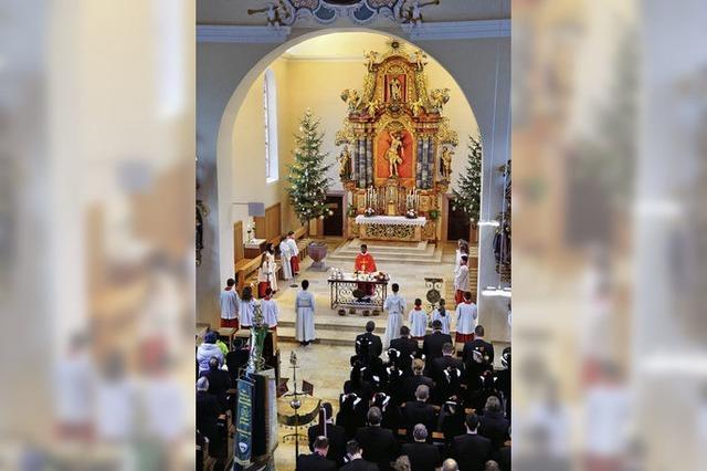 Zur Ehre von St. Sebastian