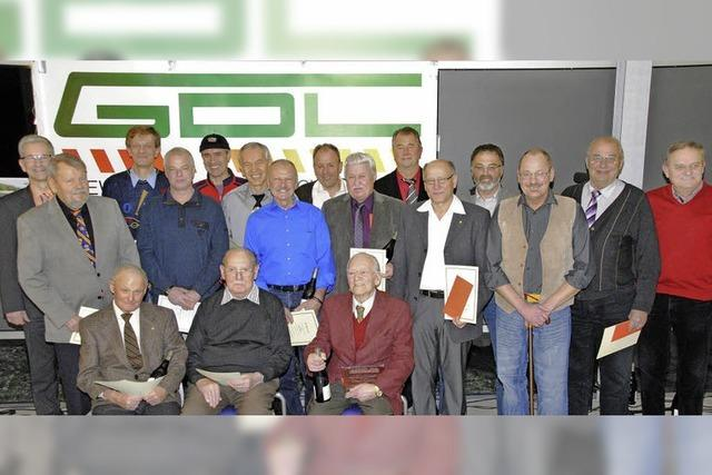Auch als Pensionäre der GDL verbunden