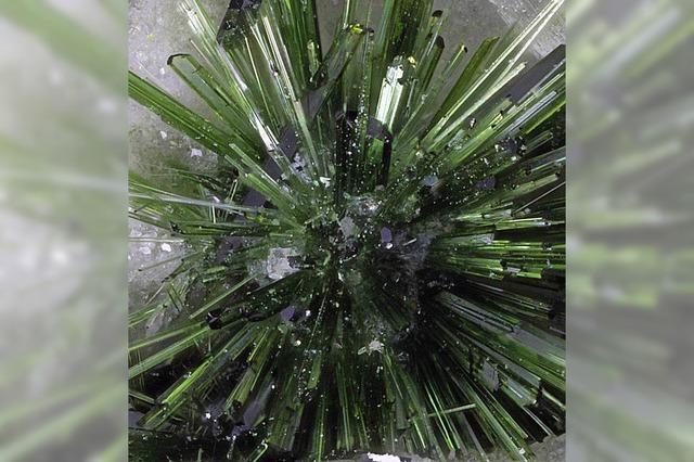 Seltene Mineralien und erkaltete Lavaströme