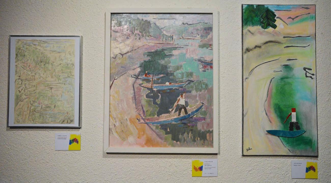 Kunst von Kunst inspiriert, das zeigt ...ne Ausstellung des Dreiländermuseums.   | Foto: Ruda