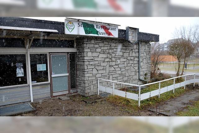 Stadionrestaurant samt FC-Vereinsheim wird abgerissen