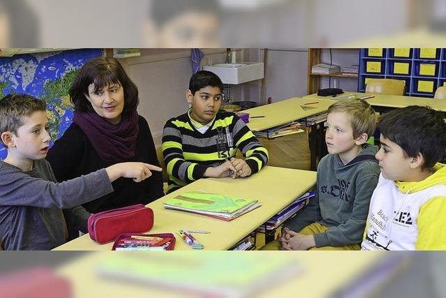 Grundschüler sind betroffen über die Abschiebung ihres Klassenkameraden Dejan