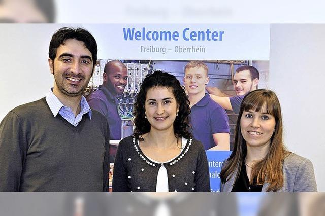 Das Welcome-Center in Freiburg betreut ausländische Arbeitssuchende