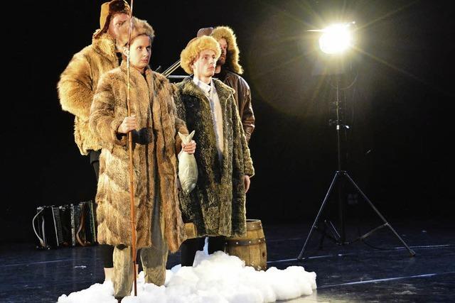 """""""Vorschlag:Hammer"""" begibt sich im Birsfelder Theater Roxy auf Nordpolexpedition"""
