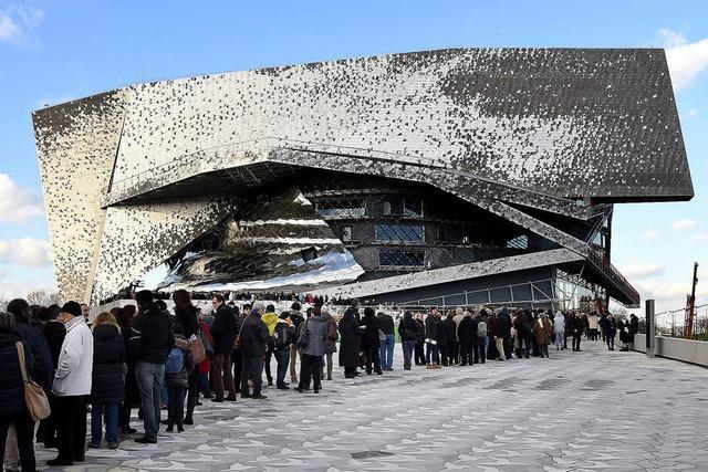 Besuch in der 380 Millionen Euro teuren neuen Philharmonie in Paris