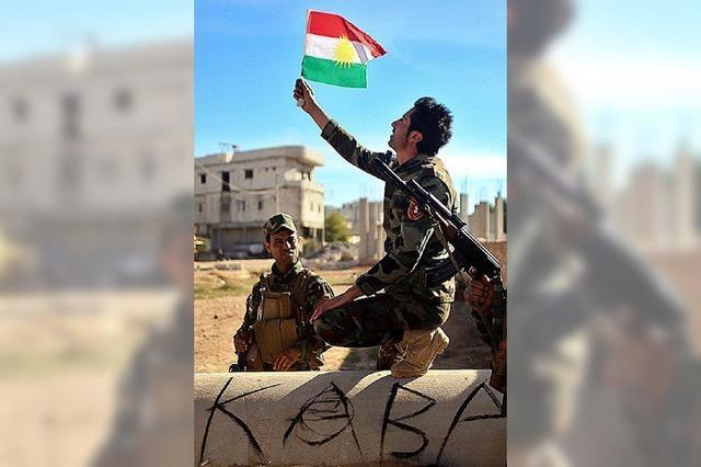 Kurden vertreiben den Islamischen Staat aus Kobane