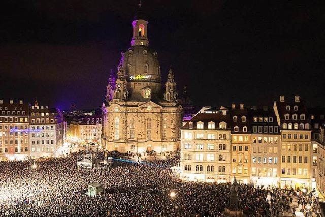 Fest für ein weltoffenes und buntes Dresden