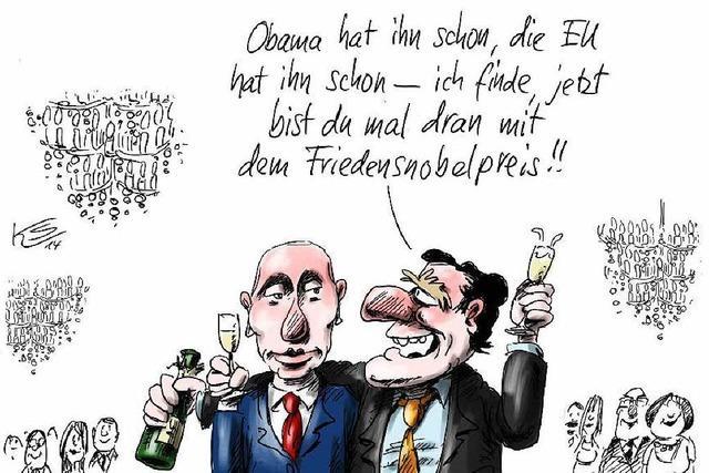 BZ-Karikaturist Stuttmann mit Karikaturenpreis geehrt