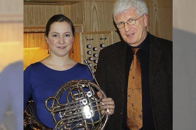 Konzert mit Horn und Orgel in Freiburg