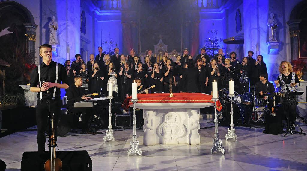 Gospelchor Golden Harps in Müllheim - Badische Zeitung