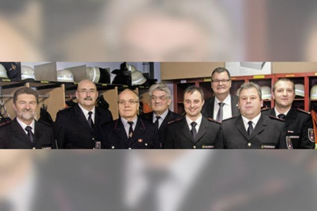 Günter Herr ist seit 60 Jahren bei der Feuerwehr