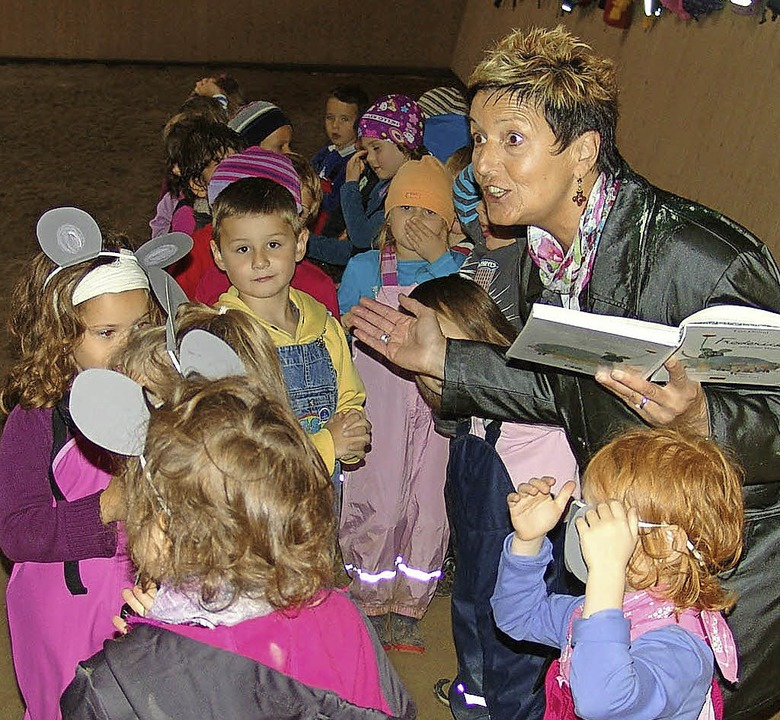 Voller Einsatz im Kindergarten: Wie hier  beim Frederik-Tag im Oktober 2011.   | Foto: Archiv-Foto: Heinrich Fehrenbach