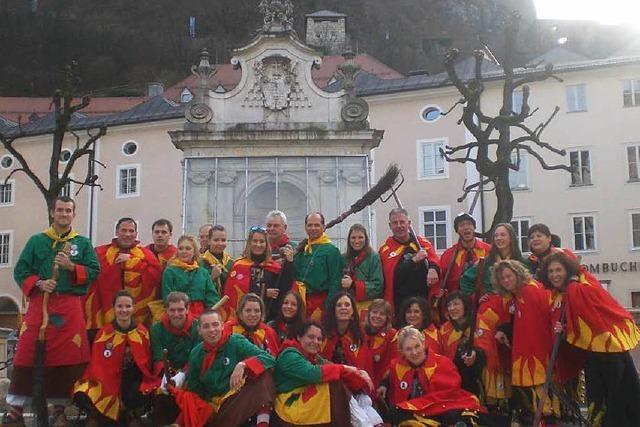 Höllhooge hängen in Salzburg ab