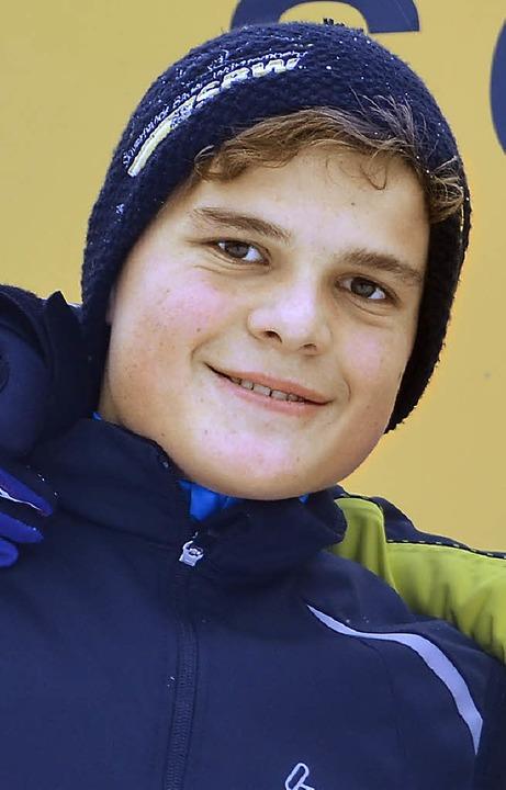 Daniel Hensler, einer der Schwarzwälde...er beim Schülercup im Bregenzerwald.    | Foto: junkel