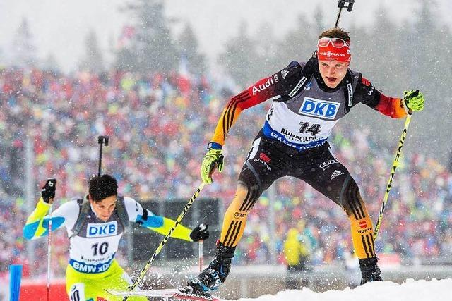 Benedikt Doll – Schwarzwälder im Biathlon-Weltcup