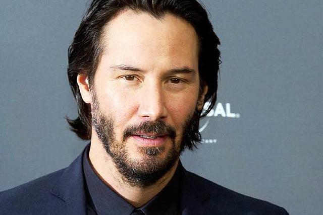 Keanu Reeves kommt in die Fondation Beyeler in Riehen