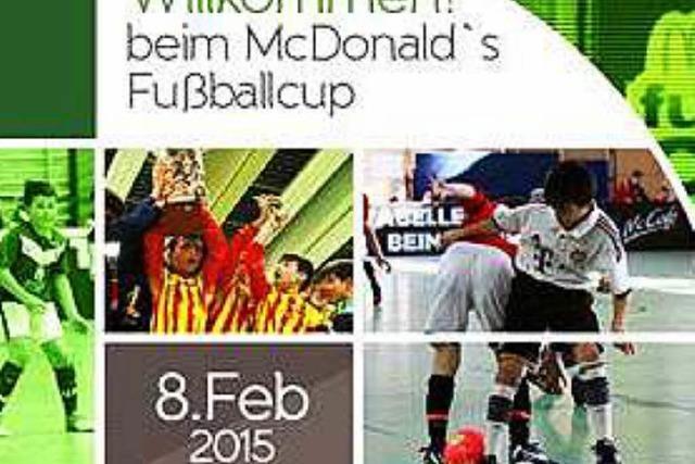 Tickets für den McDonald's Fußballcup