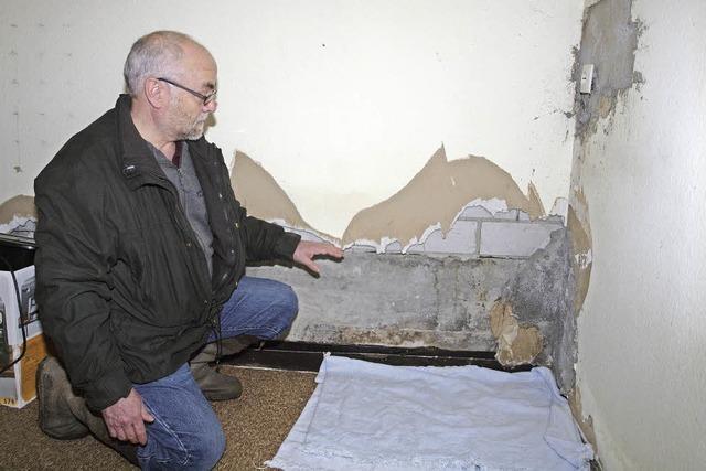 Wasser im Keller - Kenzinger möchte Strafanzeige gegen Stadt stellen