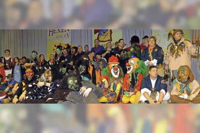 Viele Zünfte feiern mit den Hexen