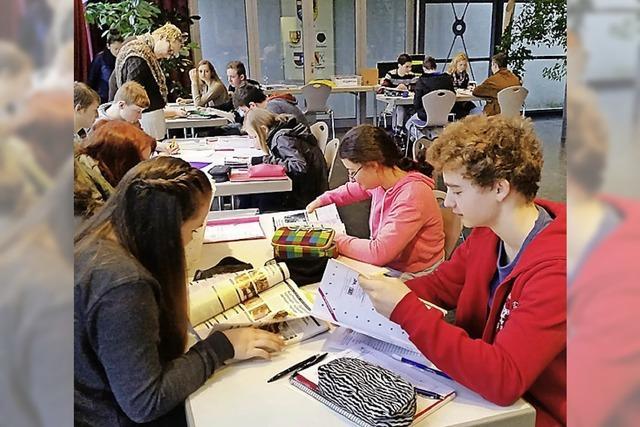 Schüler finden ihre Fähigkeiten und Talente heraus