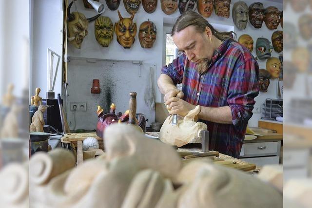 Holzmaskenausstellung in Grafenhausen