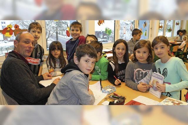 In der Grundschule Wutach bestimmen die Kinder ihr Lerntempo selbst