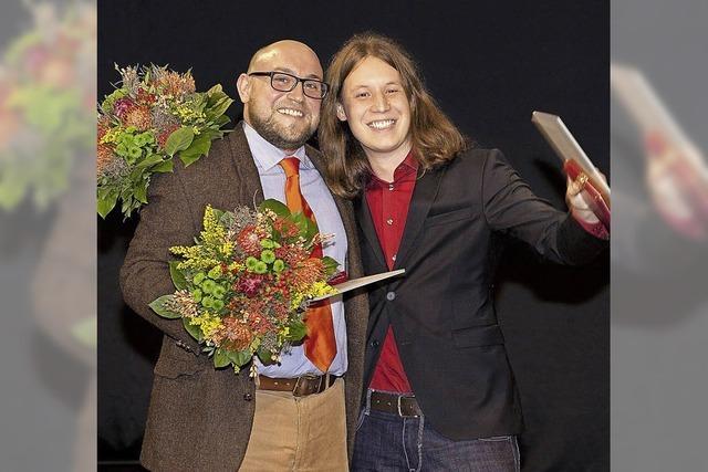 Pirmin Styrol aus Lahr gewinnt den Radiopreis