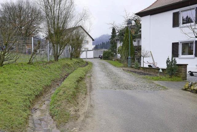 Anwohner kritisieren, dass Zähringer Baugebiet über Privatstraße erschlossen werden soll