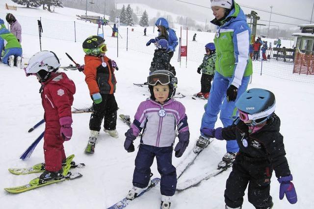 Training für Kinderskifest