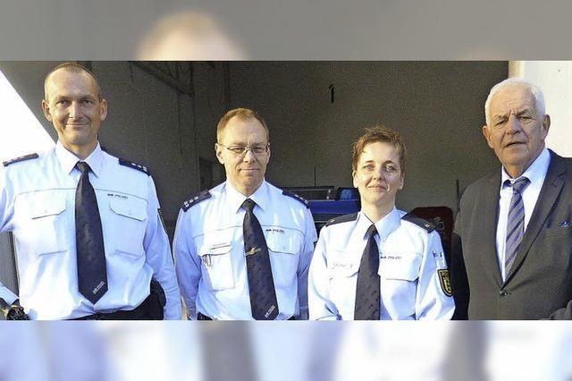 Justizminister lobt Polizei