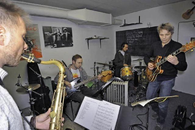 Mit Jazzmusik auf der Sonnenseite