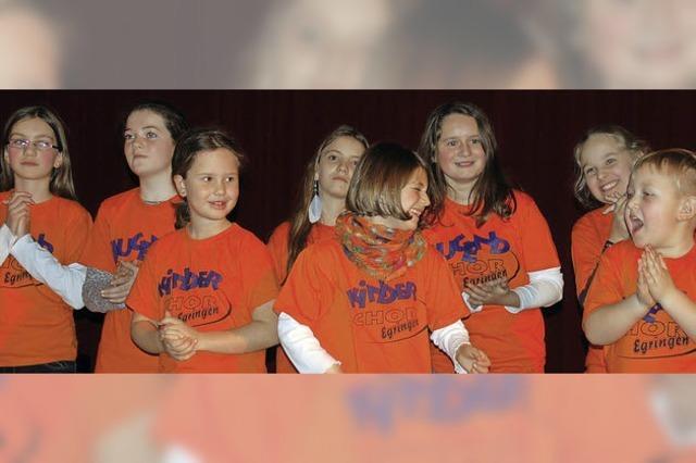 Den Kinderchor Egringen leitet nun Cornelia Hassfeld