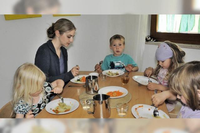 Immer mehr Einjährige werden betreut