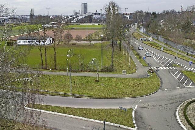 Hochschule baut auf dem früheren Sportplatz des SV Stegermatt