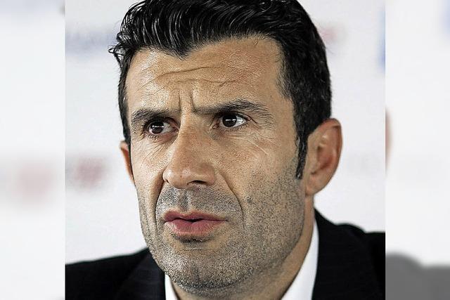 Auch Figo will gegen Blatter antreten