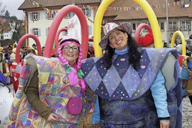 Wiiberfasnet der katholischen Frauengemeinde in Grafenhausen