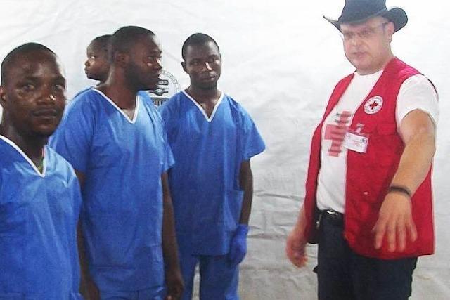 Laufenburger Rettungsassistent von Ebola-Einsatz zurückgekehrt