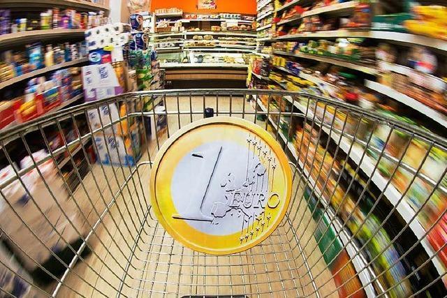 Verbraucherpreise in Deutschland sinken erstmals seit 2009