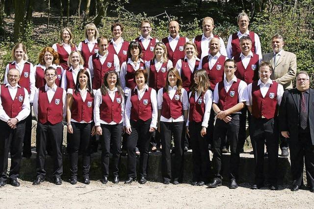 Jahreskonzert des Handharmonikaclubs Sulzburg in Sulzburg